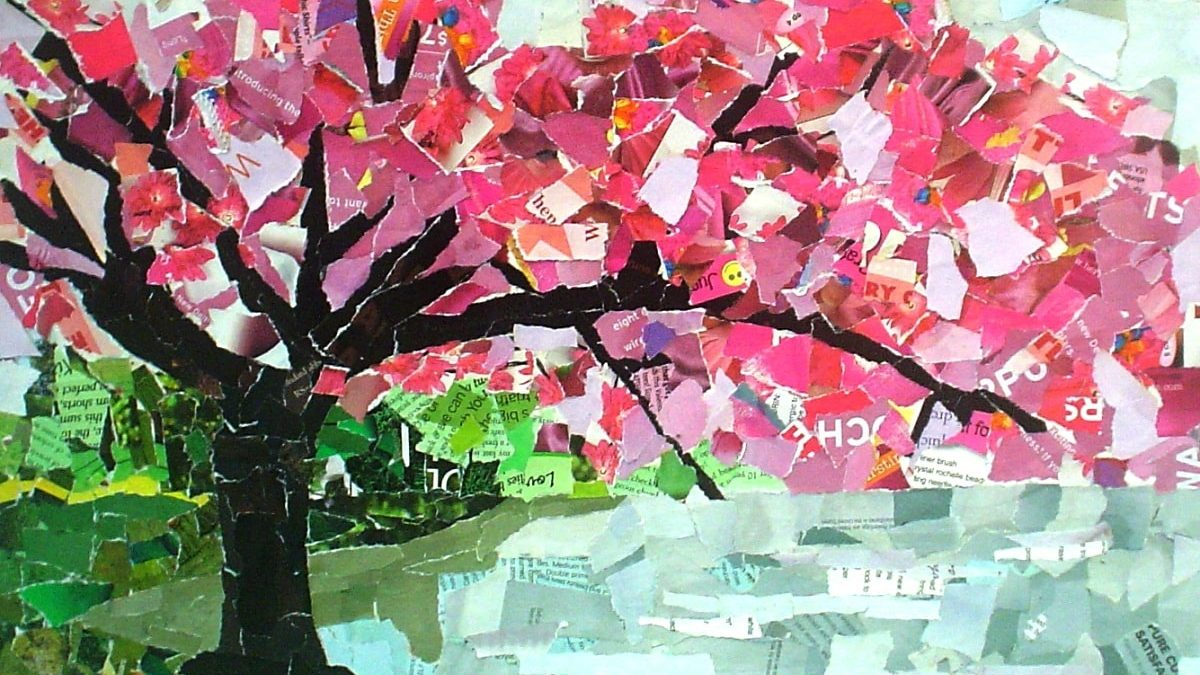 Collage Art Ideas for Kids - 50 Fun Collage Activities Children Can How to make a collage of photos on chart paper