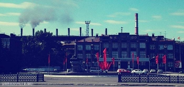 Гид по Новокузнецку: Кузнецкий металлургический комбинат