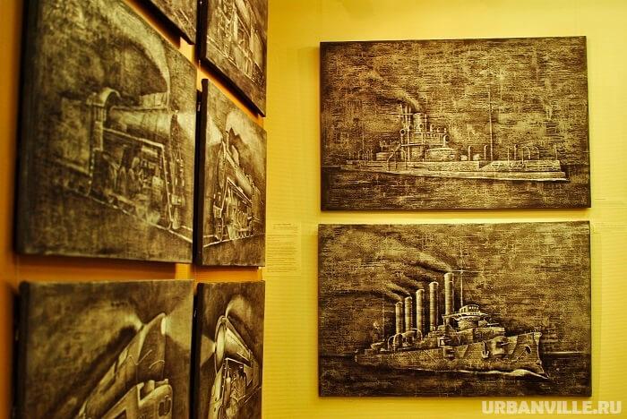 """Выставка """"Железная сила"""""""