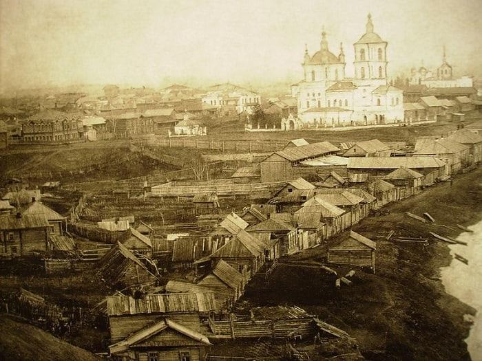 Спасо-Преображенский собор, начало XX века