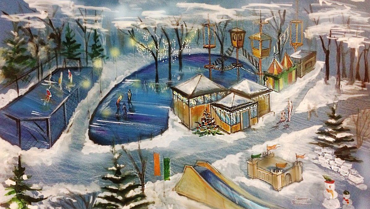 Каток в Парке Гагарина Новокузнецка: место, где живут чудеса